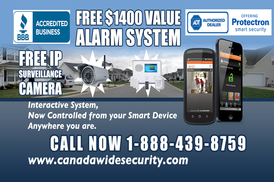 6 Months Free Alarm Promotion